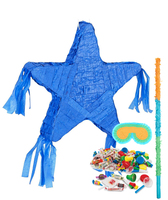 Royal Blue Star Pinata Kit