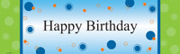 Party Birthday Banner