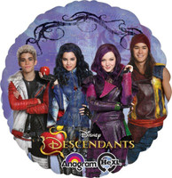 Disney Descendants Foil Balloon