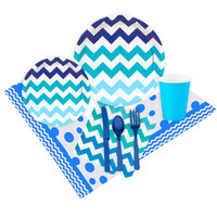 Chevron True Blue Event Pack