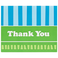 Blue and Green Thank You Notes (8)