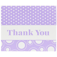 Purple Thank You Notes (8)