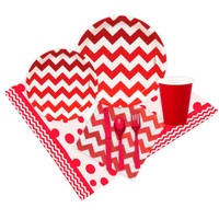 Chevron Red Event Pack