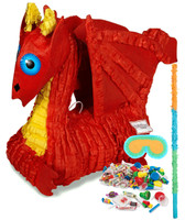 Red Dragon Pinata Kit