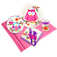 Owl Blossom Party Pack