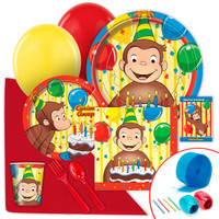 Curious George Value Party Pack
