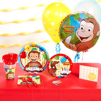 Curious George Basic Party Pack