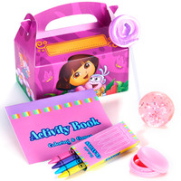 Dora's Flower Adventure Filled Favor Pack (Pack of 4)