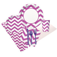 Chevron Pretty Purple Event Pack