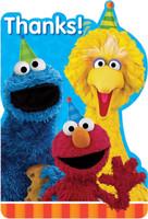 Sesame Street 2 -  Postcard Thank You (8)