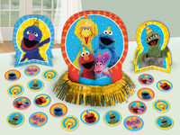 Sesame Street 2 - Table Decorating Kit