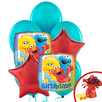 Sesame Street 2 - Balloon Bouquet
