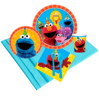 Sesame Street 2 - Party Pack (8)