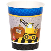 Construction Party 9oz Paper Cups (8)