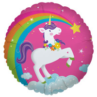 Fairytale Unicorn Party Foil Balloon
