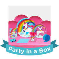 Fairytale Unicorn Basic Party Pack