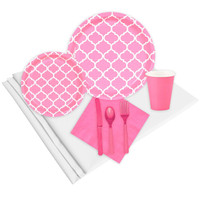 Quatrefoil Candy Pink Event Pack