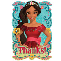 Disney Elena Postcard Thank You