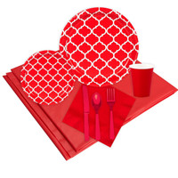 Quatrefoil Classic Red Event Pack