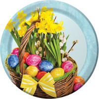 "Easter Basket 9"" Dinner Plates"