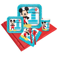 Disney Mickey Mouse 1st Birthday Party Pack