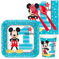 Disney Mickey Mouse 1st Birthday Snack Pack