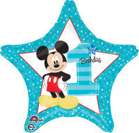 Disney Mickey Mouse 1st Birthday Foil Balloon (1)