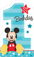 Disney Mickey Mouse 1st Birthday Invites (8)