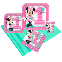 Disney Minnie Mouse 1st Birthday Party Pack