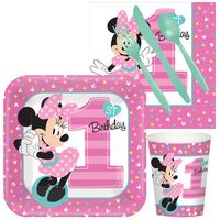 Disney Minnie Mouse 1st Birthday Snack Pack