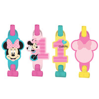 Disney Minnie Mouse 1st Birthday Blowouts (8)
