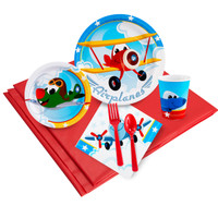 Airplane Adventure Party Pack for 24
