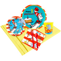 Dr. Seuss 1st Birthday Party Pack for  24