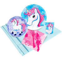 Enchanted Unicorn Party Pack for 24