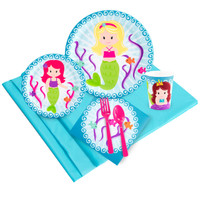 Mermaids Party Pack for 24