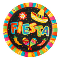 Fiesta Fun Banquet Dinner Plates