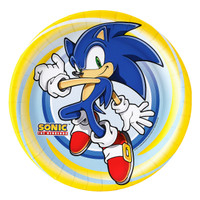 Sonic the Hedgehog Dinner Plates