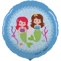 Mermaids Foil Balloon
