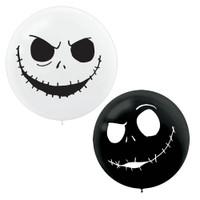 Nightmare Before Christmas Giant 24 Latex Balloons (2ct)