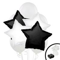 Black & White Balloon Bouquet
