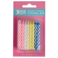 Assorted Birthday Candles (24)
