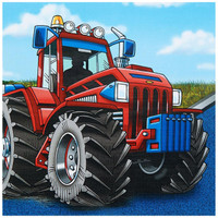 Farm Tractor Lunch Napkins