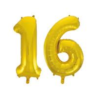 Jumbo Gold Foil Balloons-16