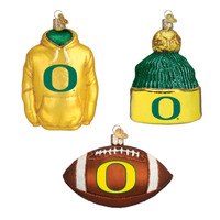 Oregon Football Christmas Ornaments (3)
