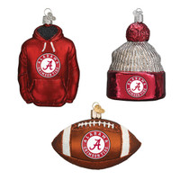 Alabama Football Christmas Ornaments (3)