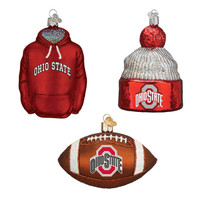 Ohio State Football Christmas Ornaments (3)