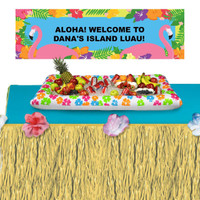 Summer Fun Banner + Cooler + Tableskirt Kit