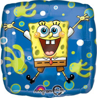 SpongeBob Square Foil Balloon