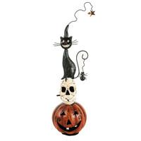 Pumpkin/Skull/Cat Metal Decor