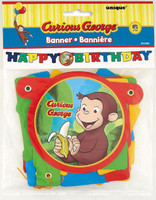 Curious George Jointed Banner